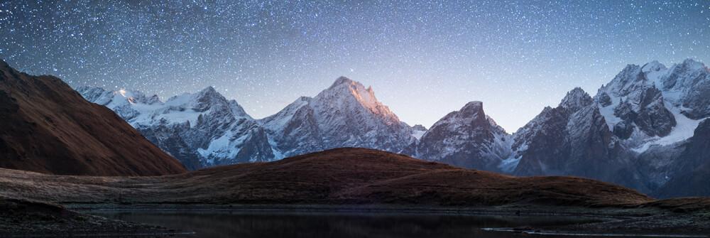 Papier Peint Panoramique avec montagne
