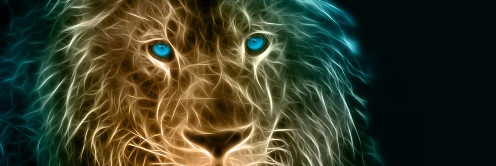 Papier Peint Panoramique Tigres & lions