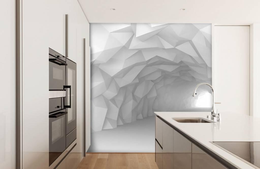 Autre - Tunnel pointu en 3D - Chambre d'adolescent 1