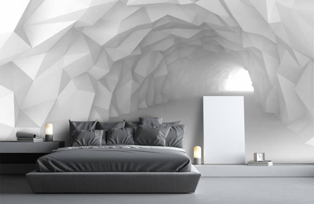 Autre - Tunnel pointu en 3D - Chambre d'adolescent 3