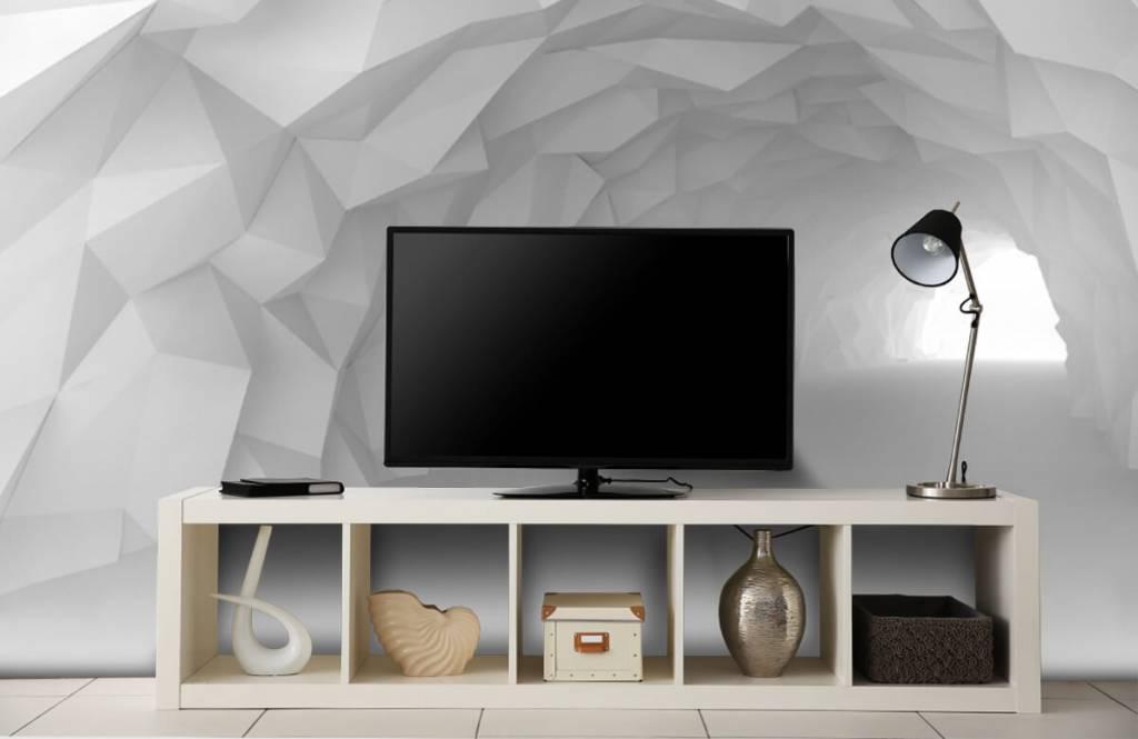 Autre - Tunnel pointu en 3D - Chambre d'adolescent 4