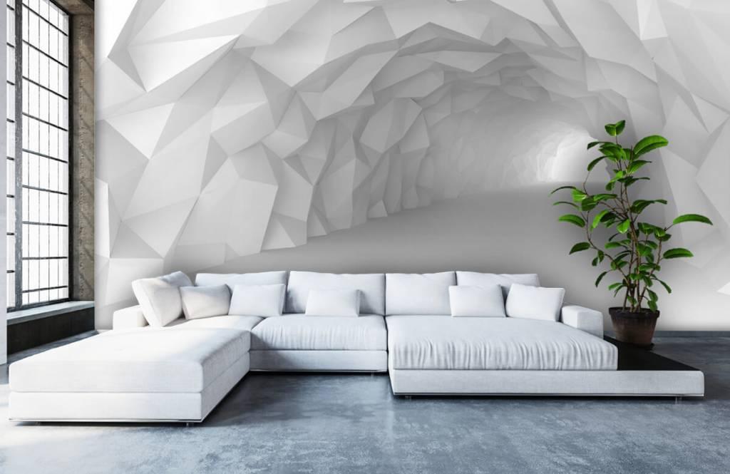 Autre - Tunnel pointu en 3D - Chambre d'adolescent 5