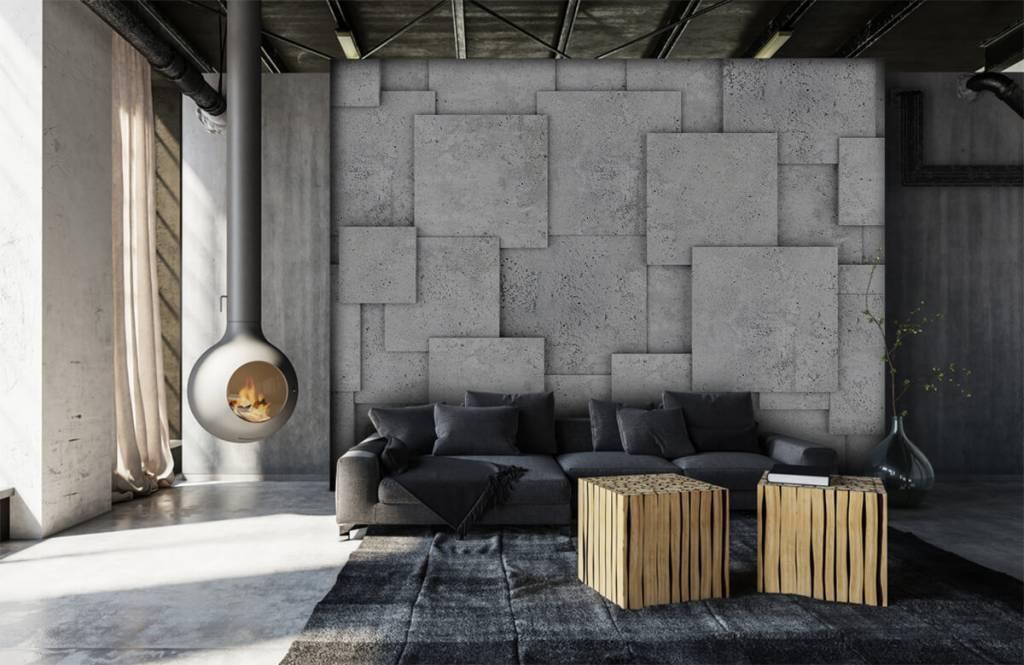 Divers - Carreaux carrés en 3D - Chambre à coucher 6