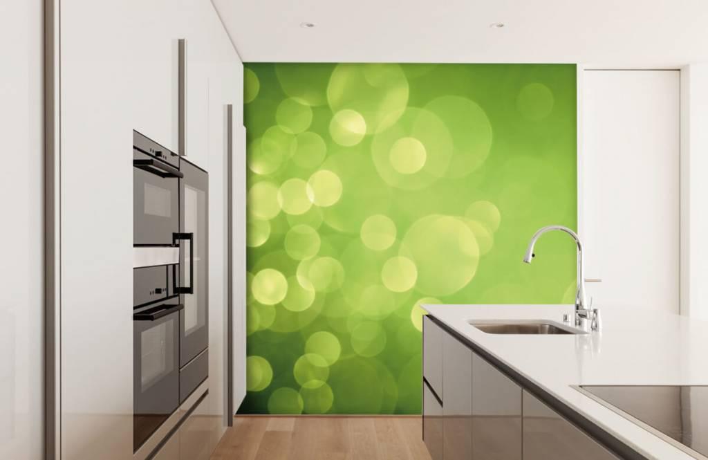 Abstrait - Cercle vert abstrait - Réception 4