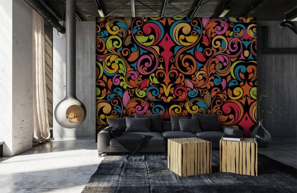 Abstrait - Figures abstraites colorées - Cuisine 2