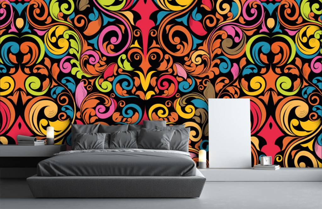 Abstrait - Figures abstraites colorées - Cuisine 3