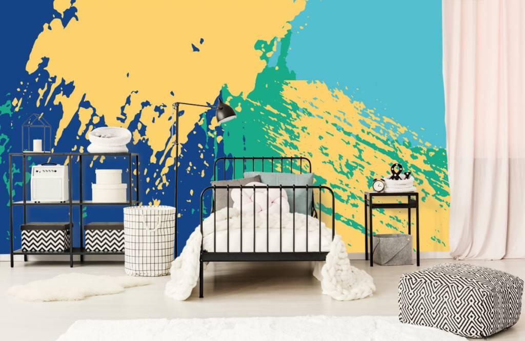 Abstrait - Surfaces abstraites en couleur - Salle de Loisirs 1
