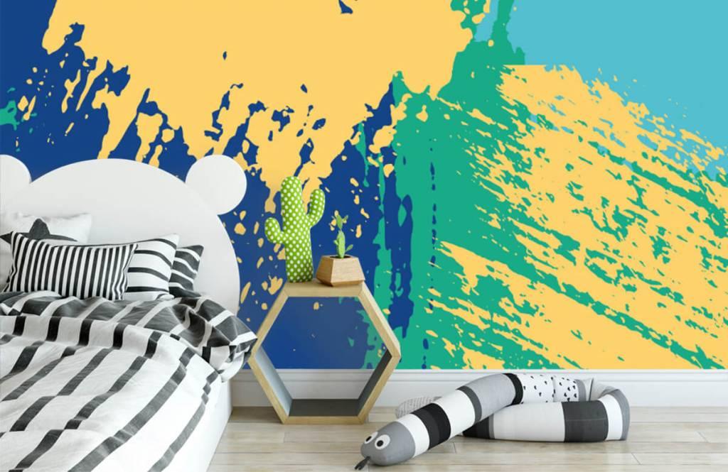 Abstrait - Surfaces abstraites en couleur - Salle de Loisirs 2
