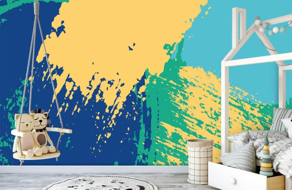Abstrait - Surfaces abstraites en couleur - Salle de Loisirs 3