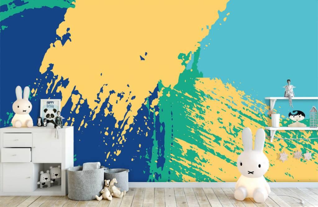 Abstrait - Surfaces abstraites en couleur - Salle de Loisirs 4