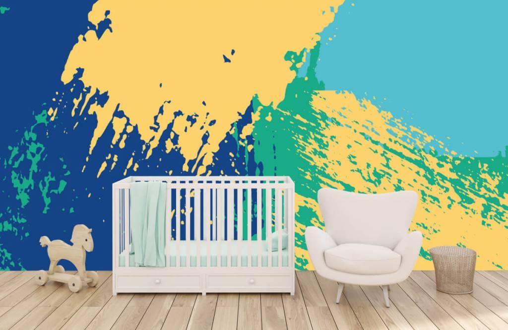 Abstrait - Surfaces abstraites en couleur - Salle de Loisirs 5