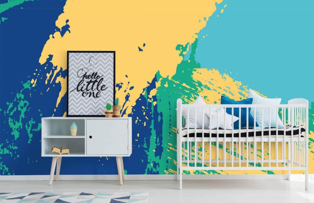 Abstrait - Surfaces abstraites en couleur - Salle de Loisirs 6