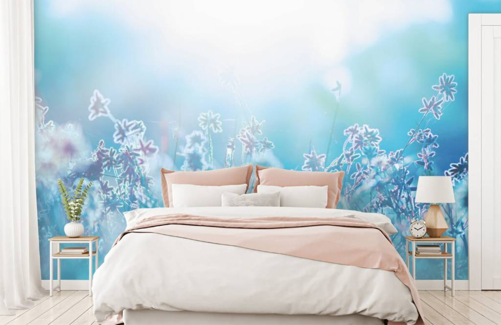 Champs fleuris - Fleurs au soleil - Chambre à coucher 2
