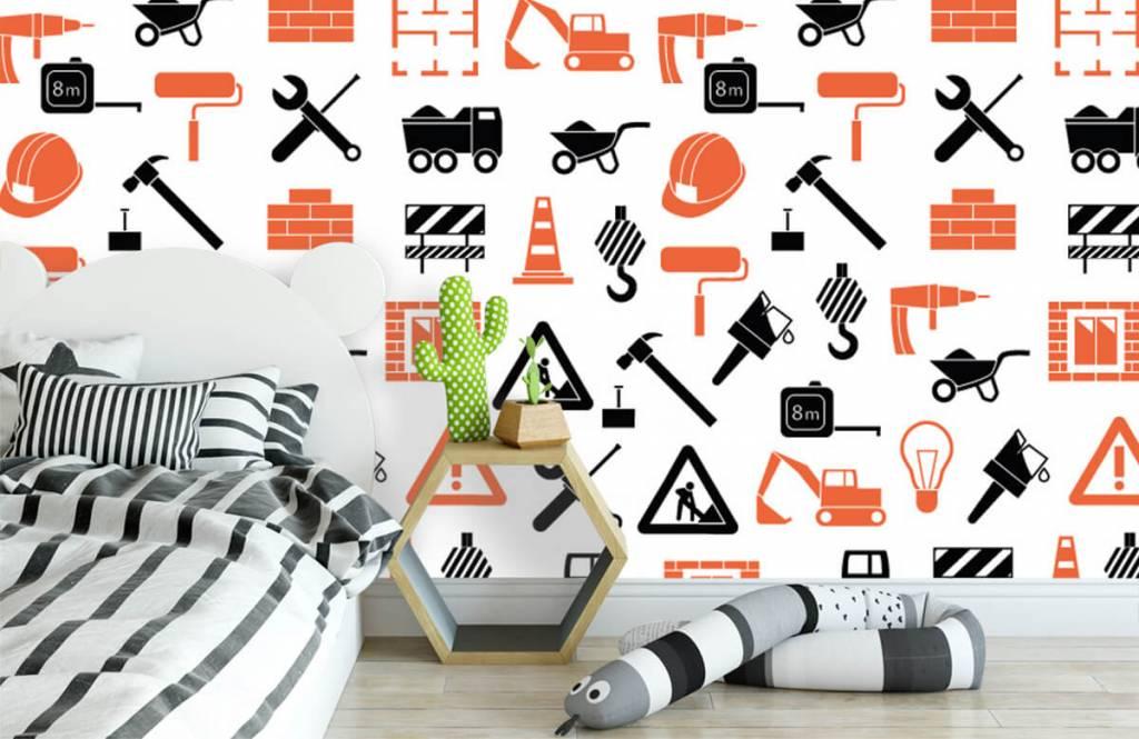Autre - Véhicules et matériaux de construction - Chambre d'enfants 3