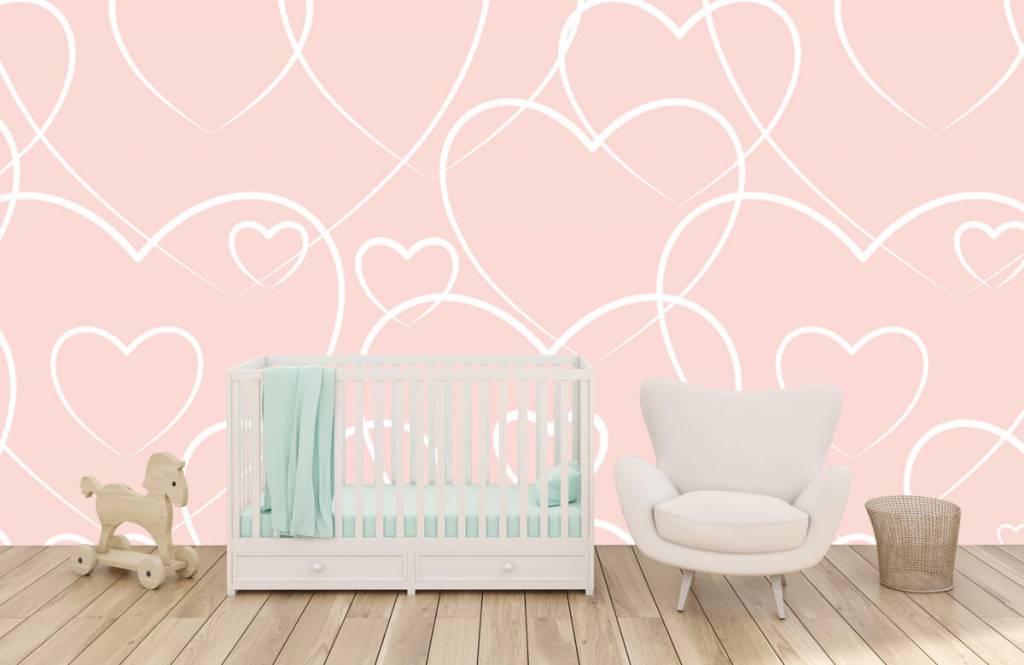 Autre - Coeurs à la crème - Chambre d'enfants 5