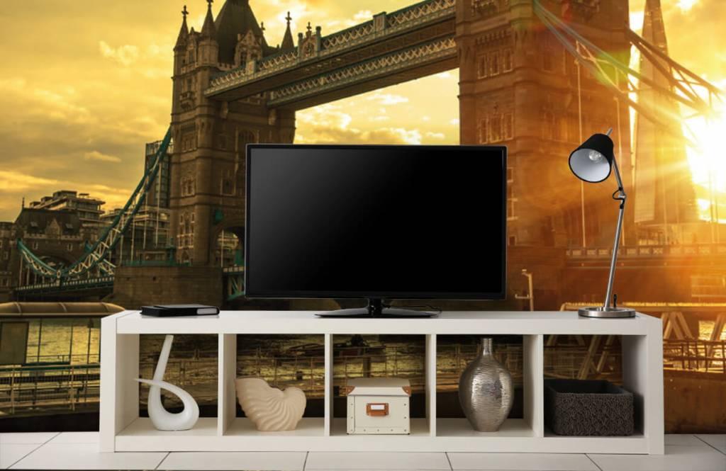 Papier peint Villes - Pont de la Tour de Londres - Chambre à coucher 5