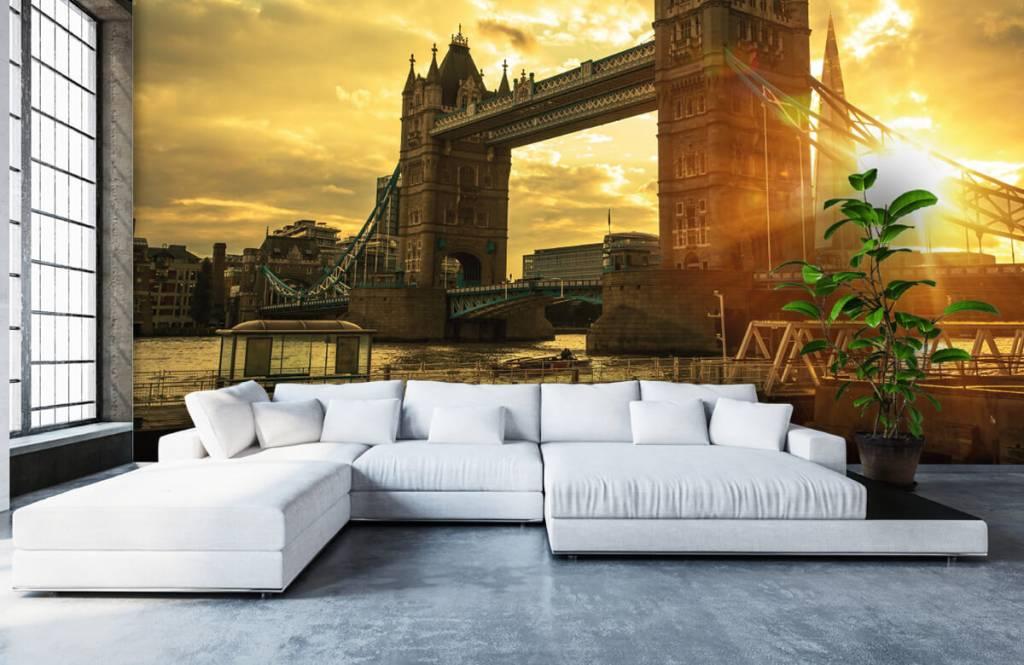 Papier peint Villes - Pont de la Tour de Londres - Chambre à coucher 6