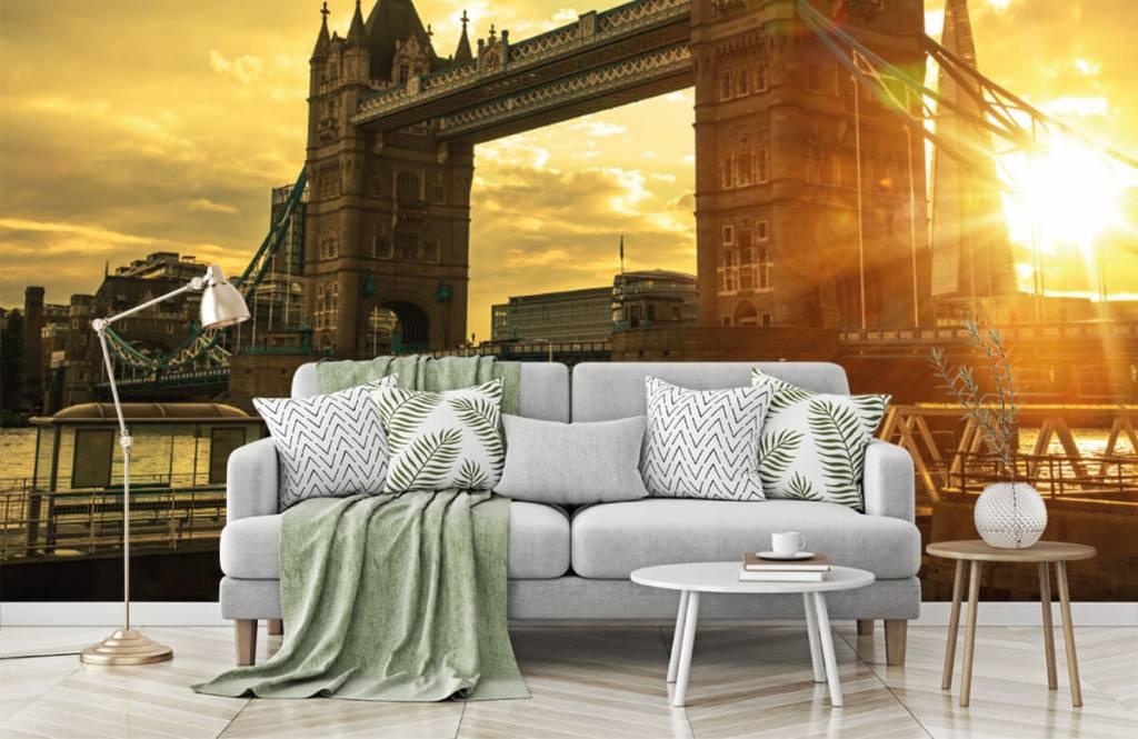Papier peint Villes - Pont de la Tour de Londres - Chambre à coucher 7