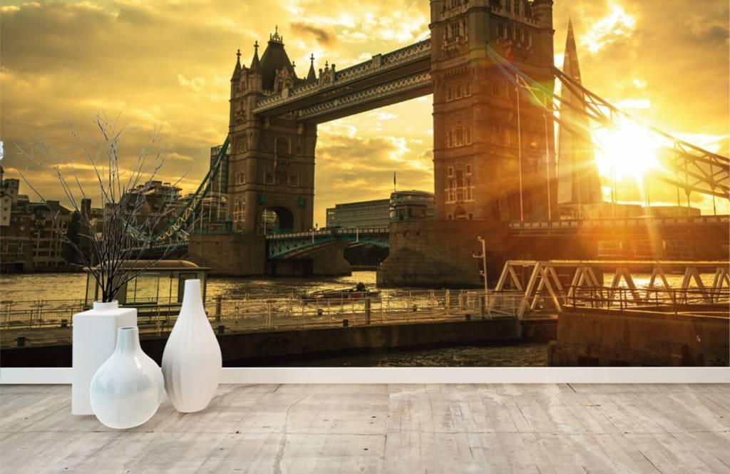 Papier peint Villes - Pont de la Tour de Londres - Chambre à coucher 8