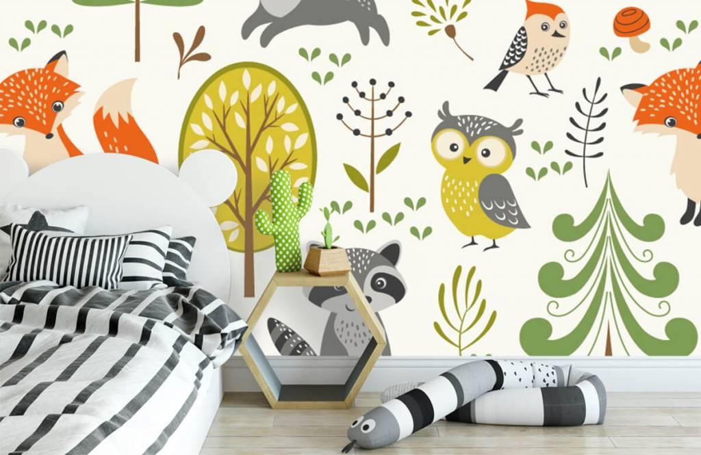 Autre - Animaux dans la forêt - Chambre d'enfants 3