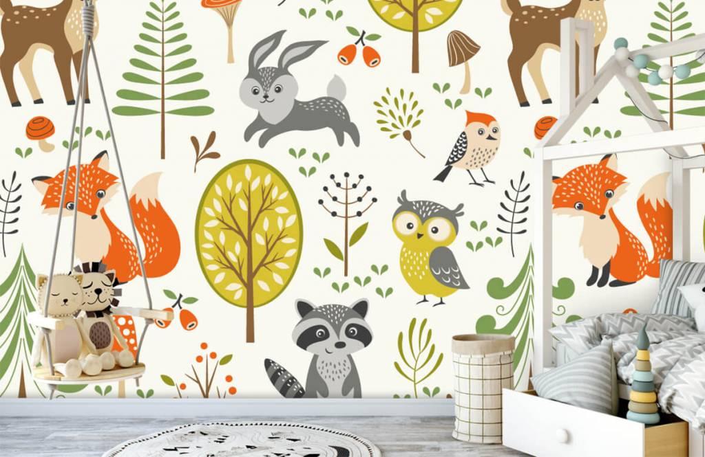 Autre - Animaux dans la forêt - Chambre d'enfants 4