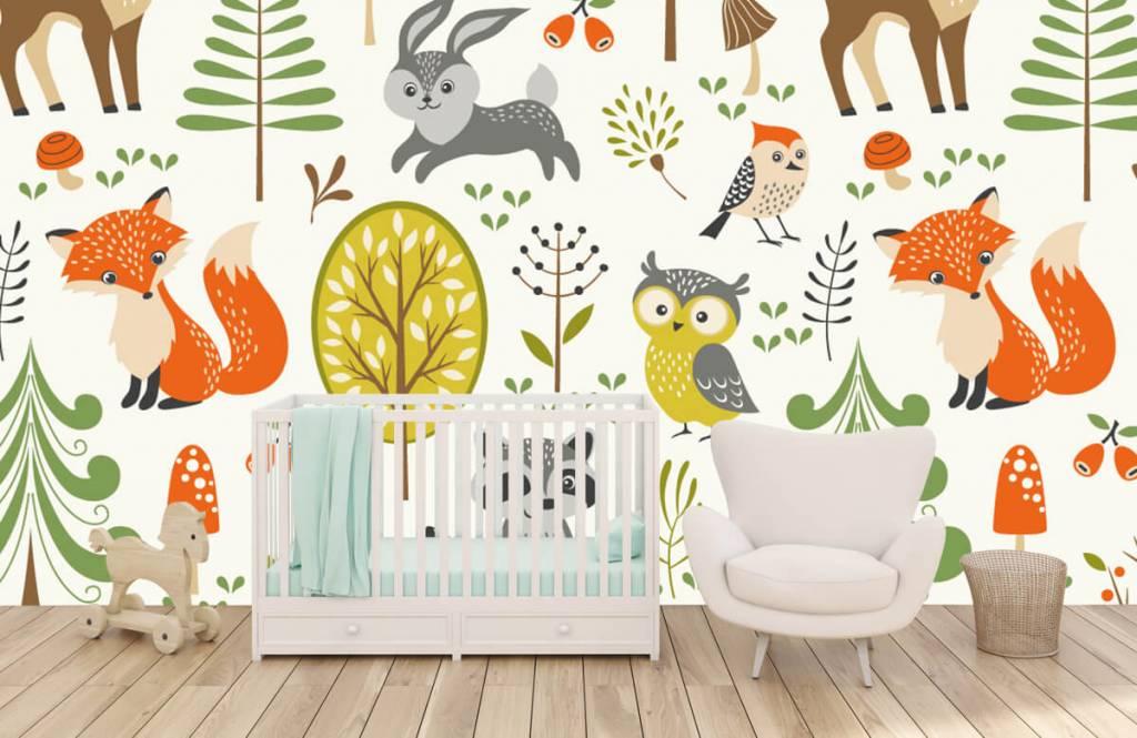 Autre - Animaux dans la forêt - Chambre d'enfants 6