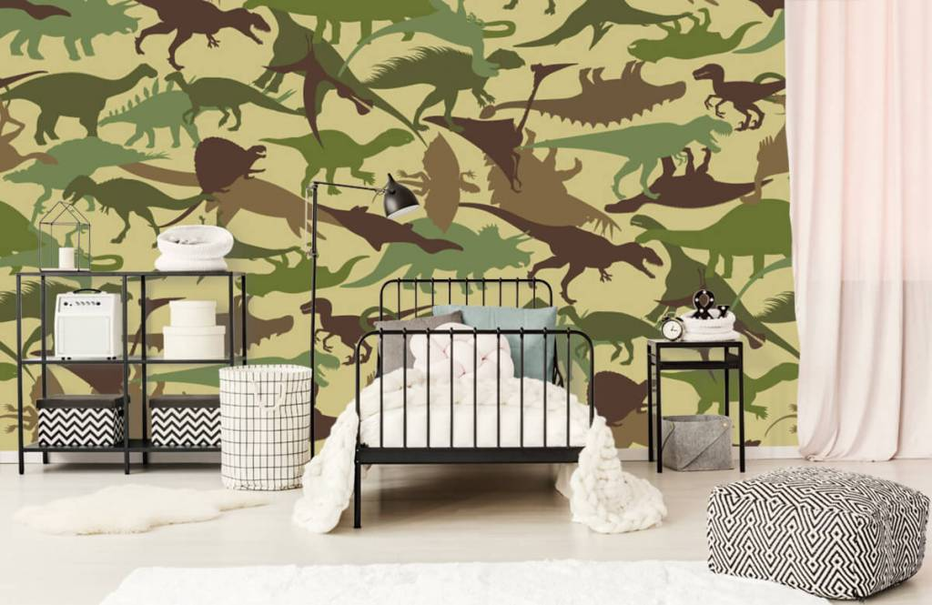 Dinosaures - Dino camouflage - Chambre d'enfants 2