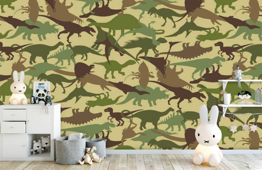 Dinosaures - Dino camouflage - Chambre d'enfants 4