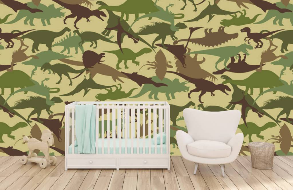Dinosaures - Dino camouflage - Chambre d'enfants 5