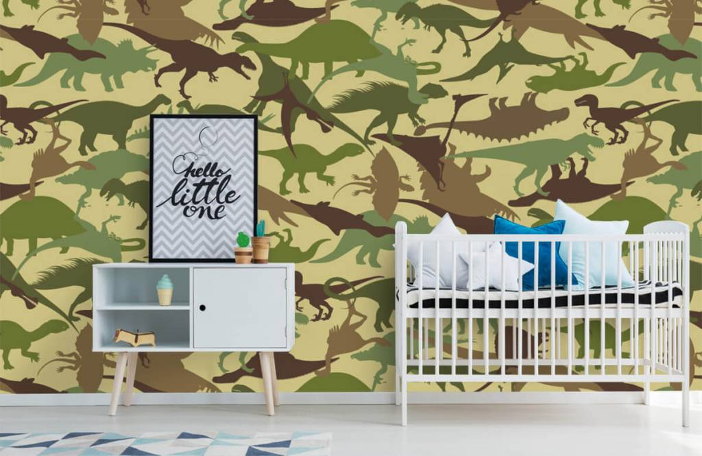 Dinosaures - Dino camouflage - Chambre d'enfants 6
