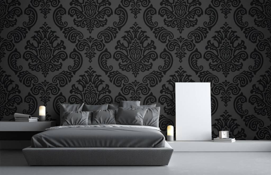 Papier peint baroque - Baroque foncé - Chambre à coucher 1