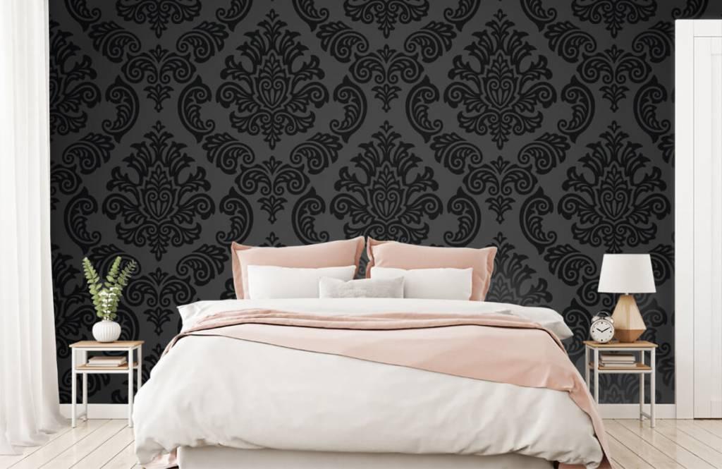Papier peint baroque - Baroque foncé - Chambre à coucher 2