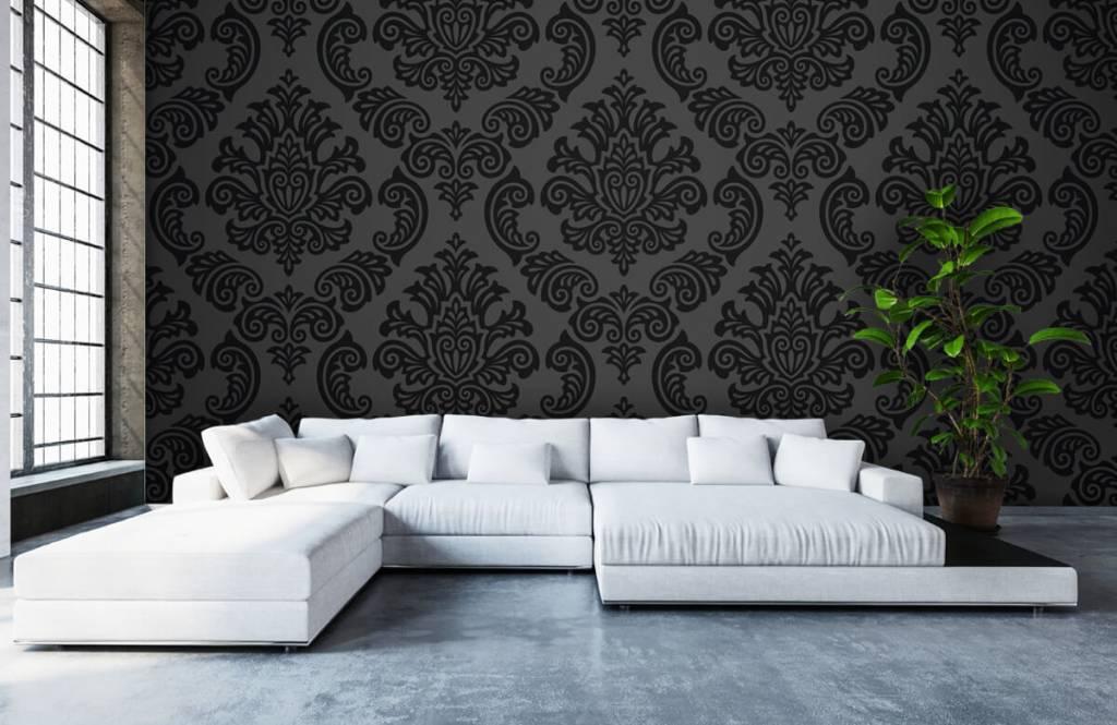 Papier peint baroque - Baroque foncé - Chambre à coucher 5