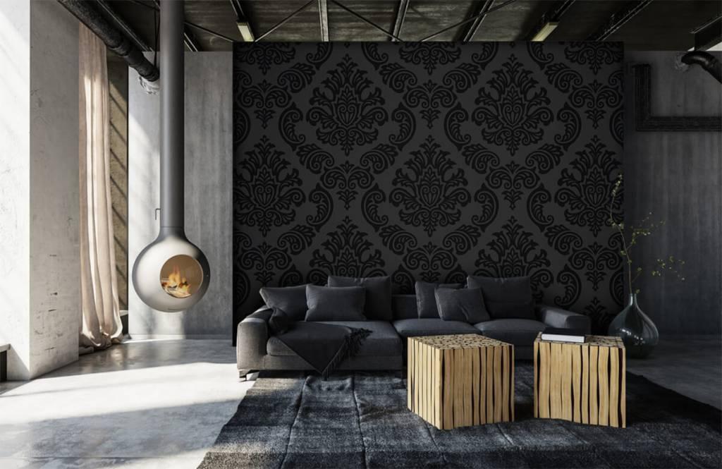 Papier peint baroque - Baroque foncé - Chambre à coucher 6
