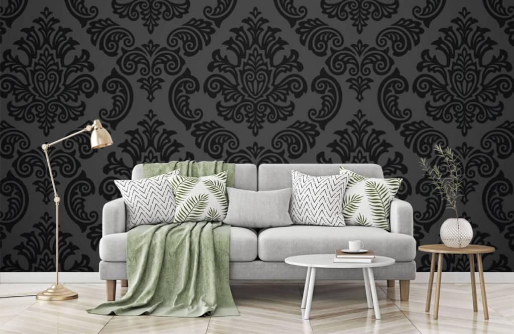 Papier peint baroque - Baroque foncé - Chambre à coucher 7
