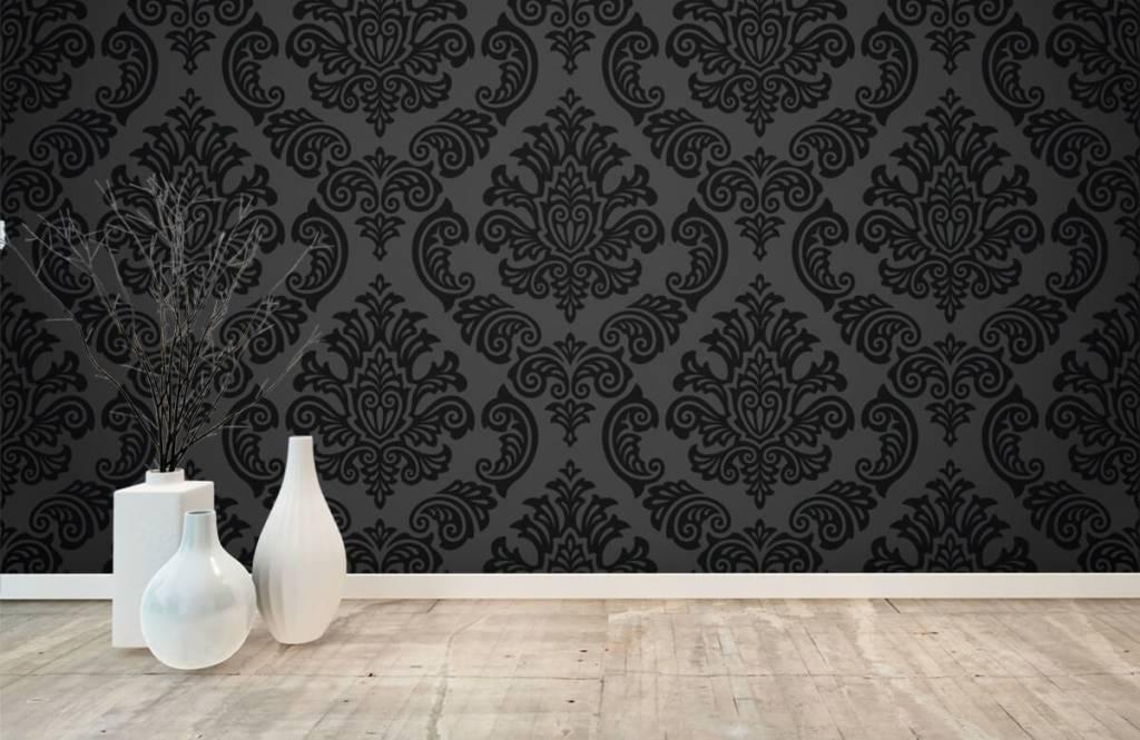 Papier peint baroque - Baroque foncé - Chambre à coucher 8