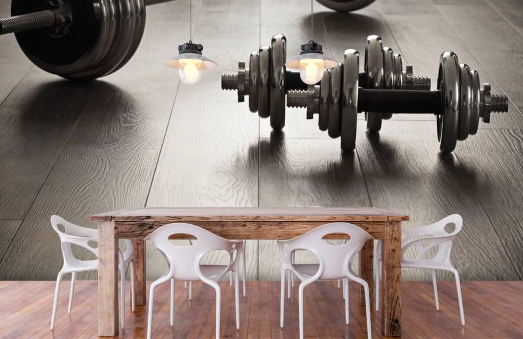 Fitness - Haltères et poids - Salle de Loisirs 5