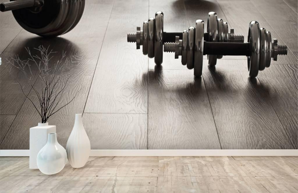 Fitness - Haltères et poids - Salle de Loisirs 6