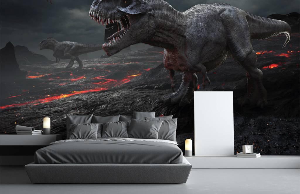 Dinosaures - Dinosaures 3D - Chambre d'enfants 1