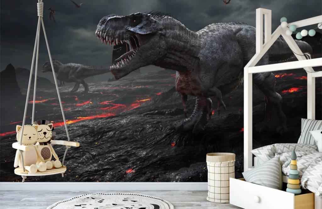 Dinosaures - Dinosaures 3D - Chambre d'enfants 2
