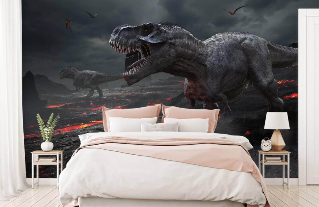 Dinosaures - Dinosaures 3D - Chambre d'enfants 3
