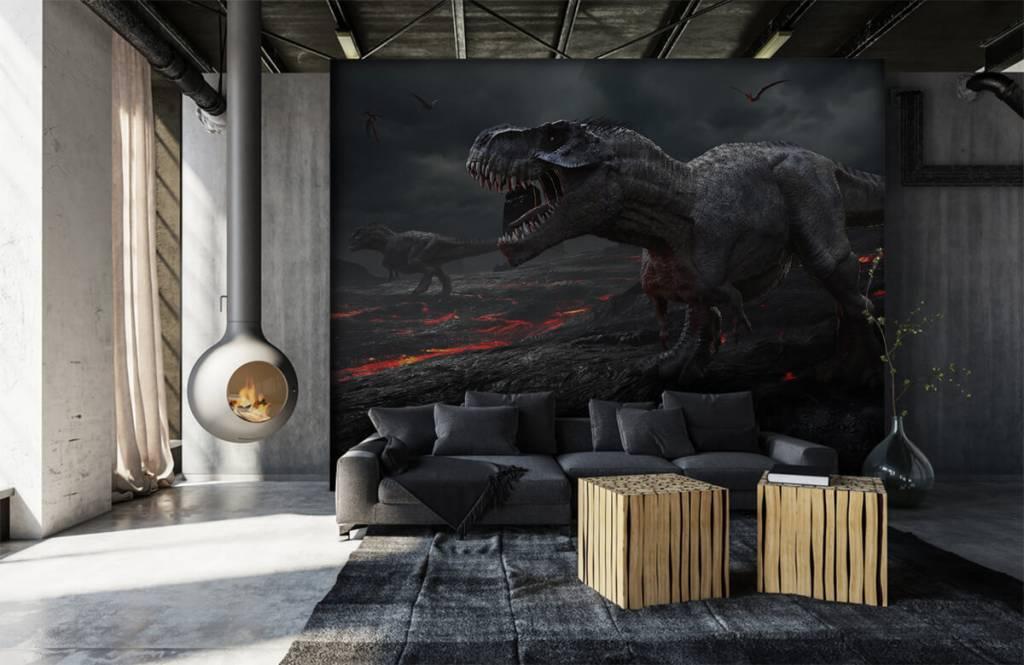 Dinosaures - Dinosaures 3D - Chambre d'enfants 4