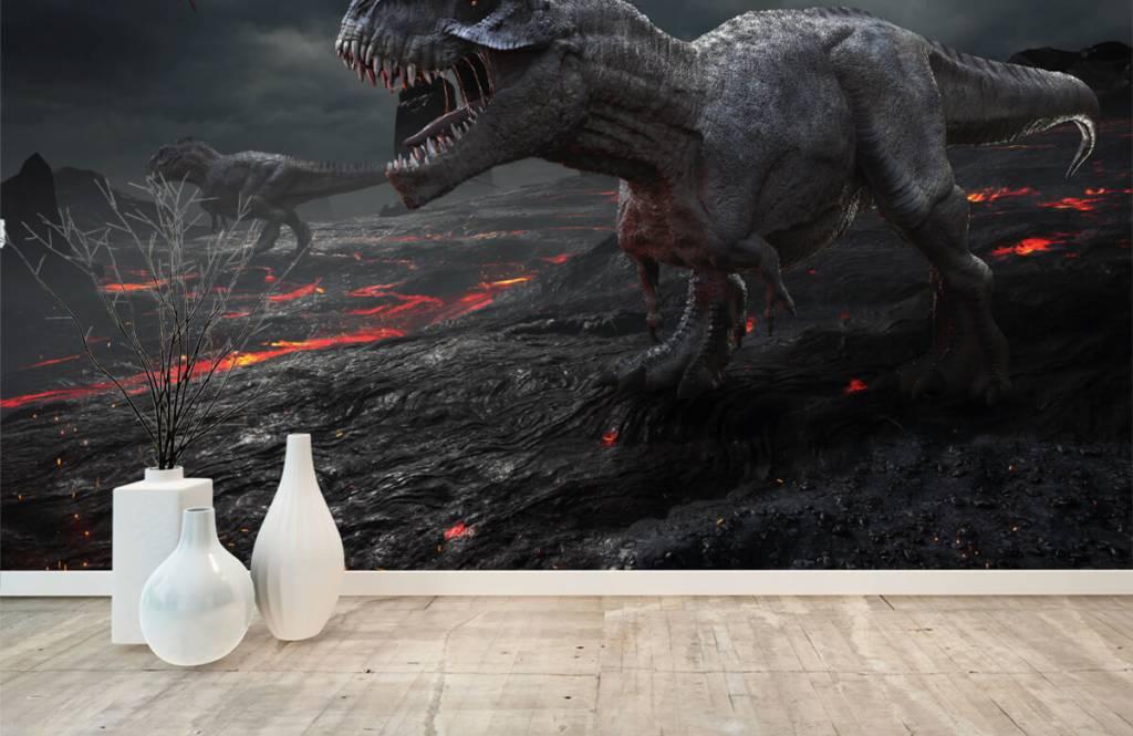 Dinosaures - Dinosaures 3D - Chambre d'enfants 5
