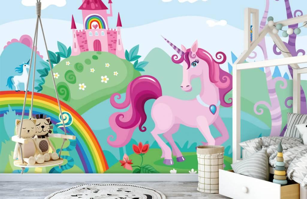 Autre - Licorne dans un château - Chambre d'enfants 1