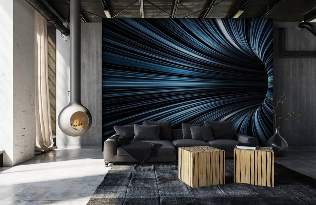 Autre - Tunnel 3D futuriste - Salle de Loisirs 6