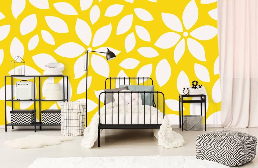 Autre - Motif fleur jaune - Chambre de bébé 2