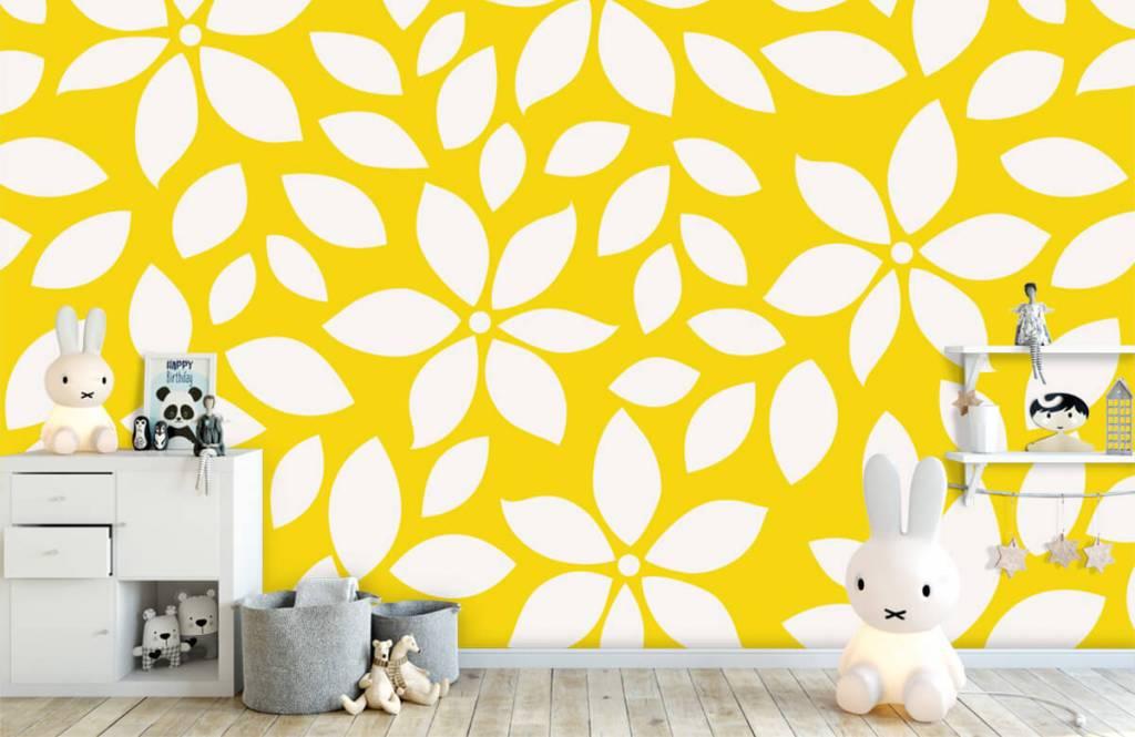Autre - Motif fleur jaune - Chambre de bébé 4