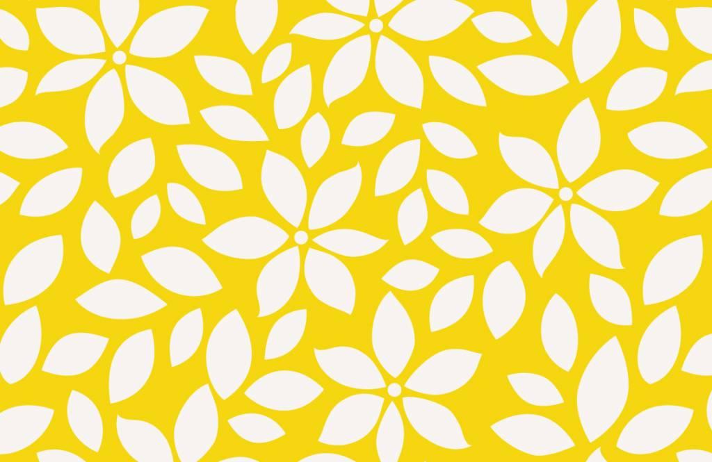 Autre - Motif fleur jaune - Chambre de bébé 7