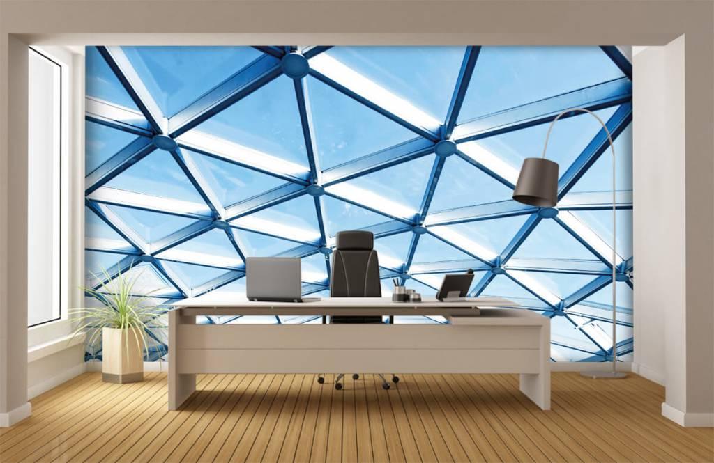 Bâtiments - Plafond en verre - Hall d'entrée 1