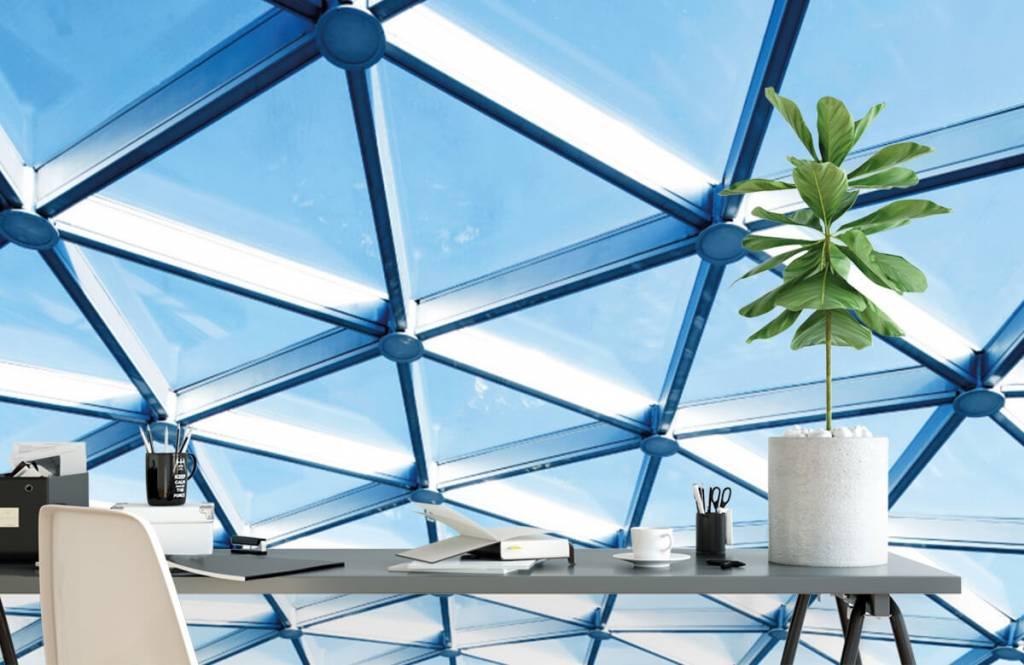 Bâtiments - Plafond en verre - Hall d'entrée 2